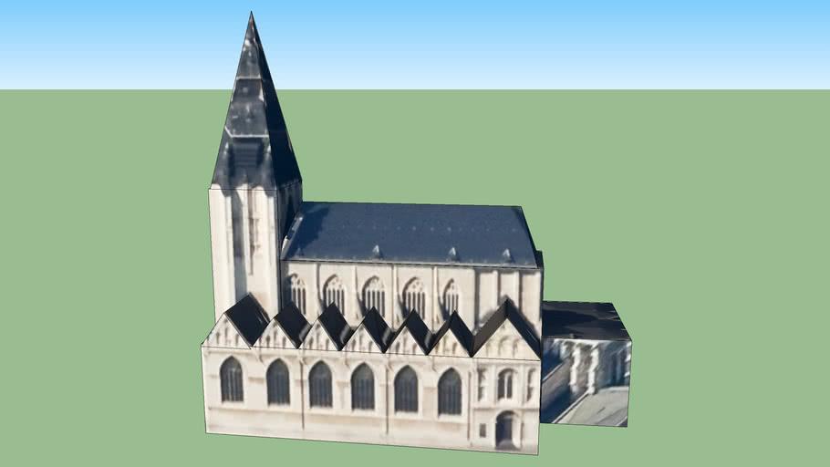 Notre dame de la Chapelle in Brussel, België