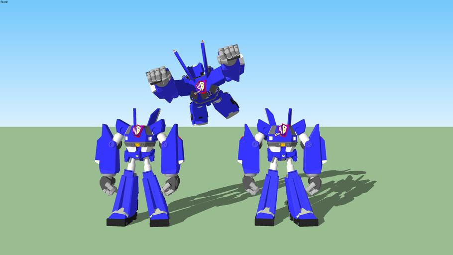 3 Megas XLR Bodys  with 3 Kids' WB! Logos