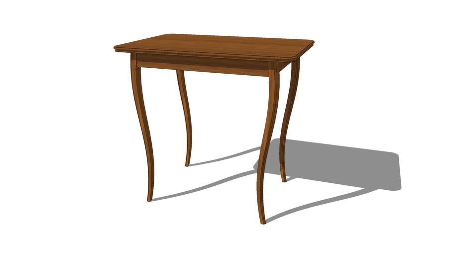 Table with Curved Legs
