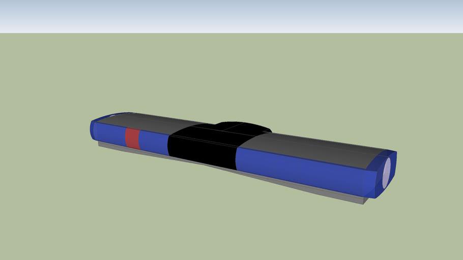 Federal Signal P8000 series lightbar. Estonian Police version