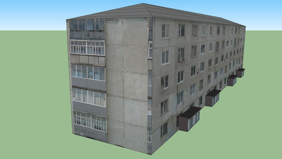5 этажный дом.
