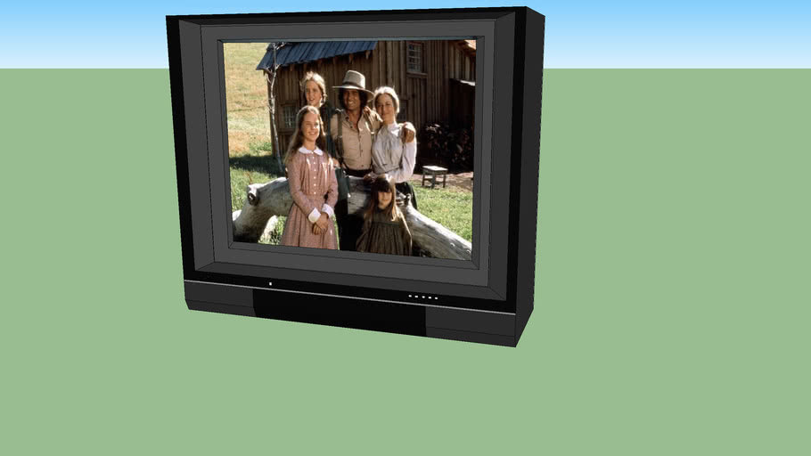 "General Electric 26"" CRT TV  (8-2668)"