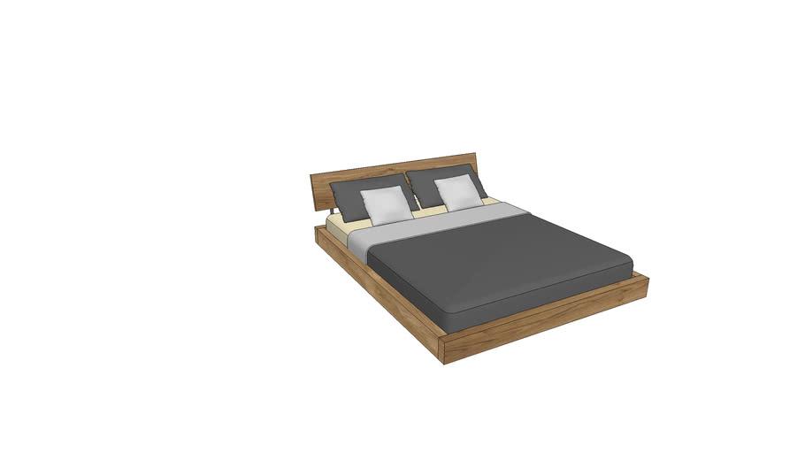LA730, Lausanne Bed 160x200cm
