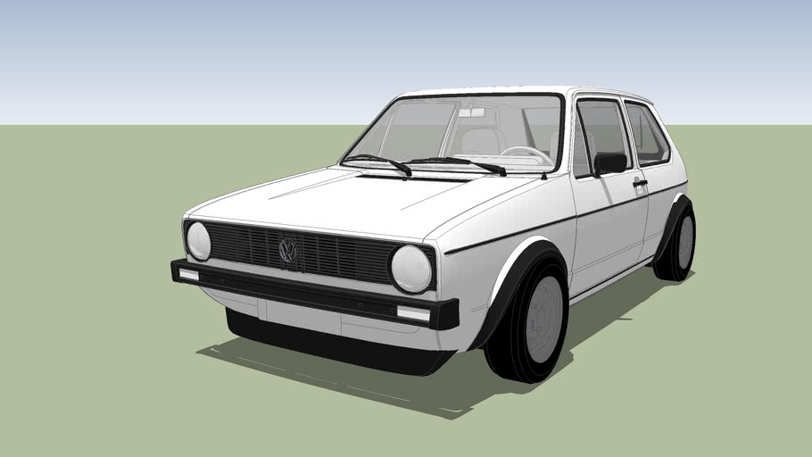 1974 VW Golf 1
