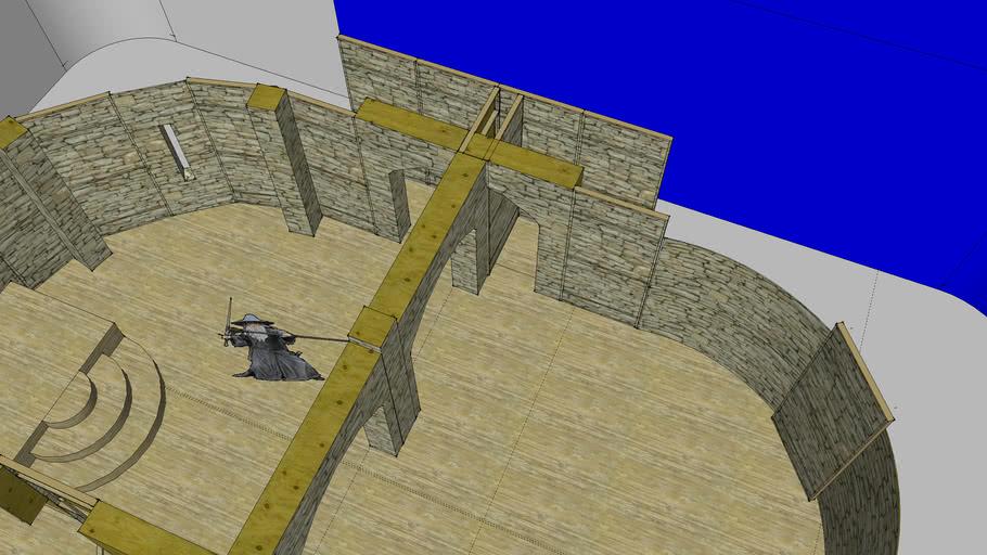 Unitec Studio 3 Castle Set 2013 (Hamlet)