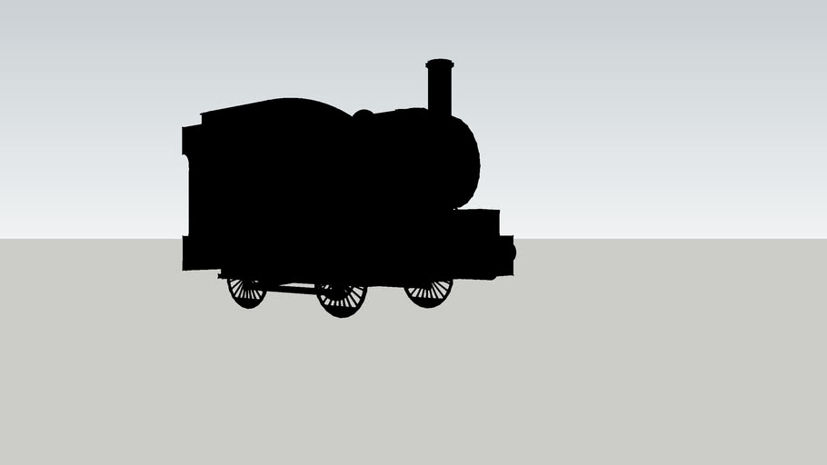 The shape of Percy the Small Engine