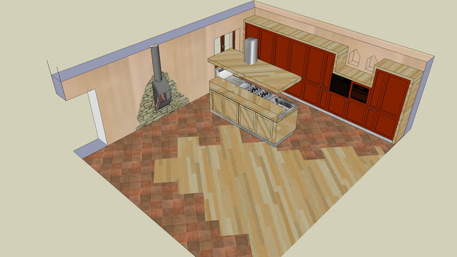 Cucina in taverna | 3D Warehouse