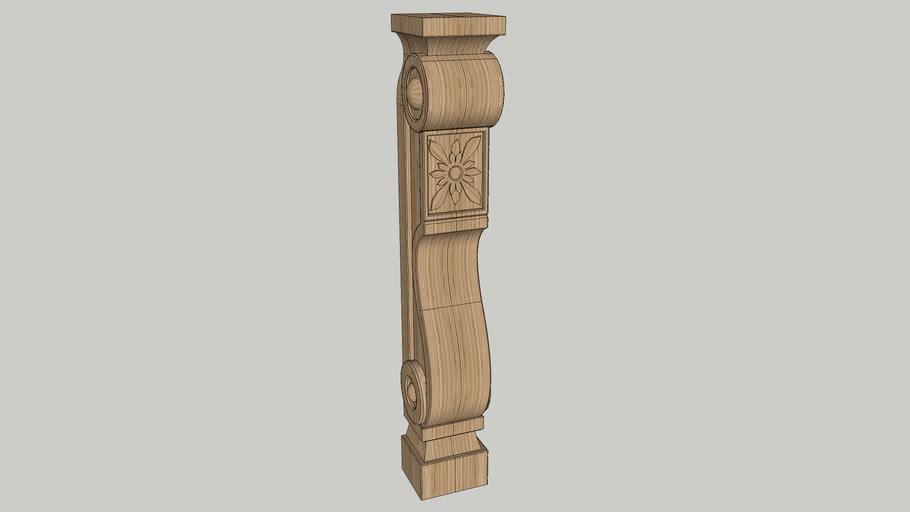 stone side small column