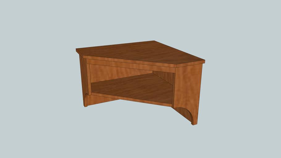 Corner Shelf from Popular Woodworking Magazine November 2008 Issue