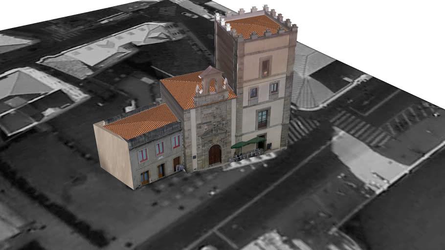 Torre de Jove Hevia y Capilla de San Lorenzo