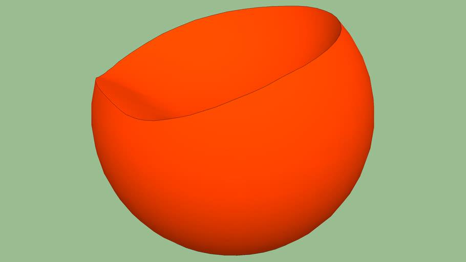 bola laranja
