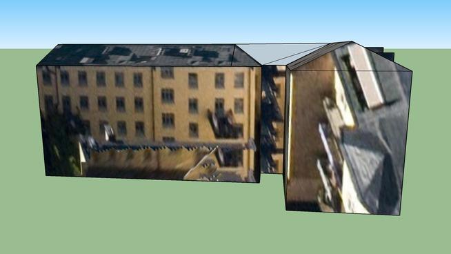 ストックホルム, スウェーデン,旧市街区建物(5)