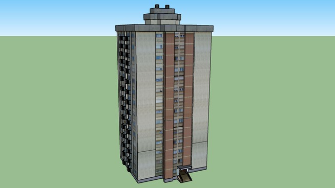 Станбена зграда на ул. Партизанска бр. 20 - Битола