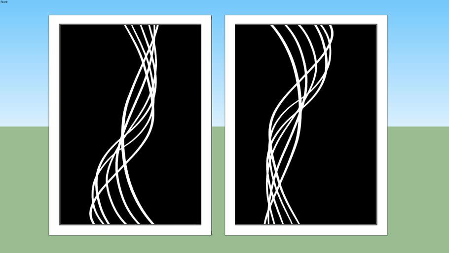 Quadros-Linhas