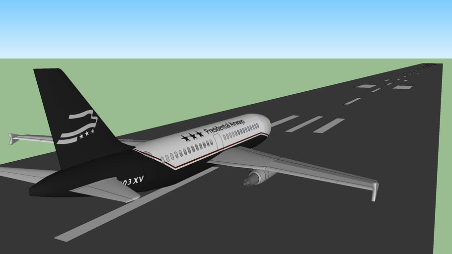 Landing track