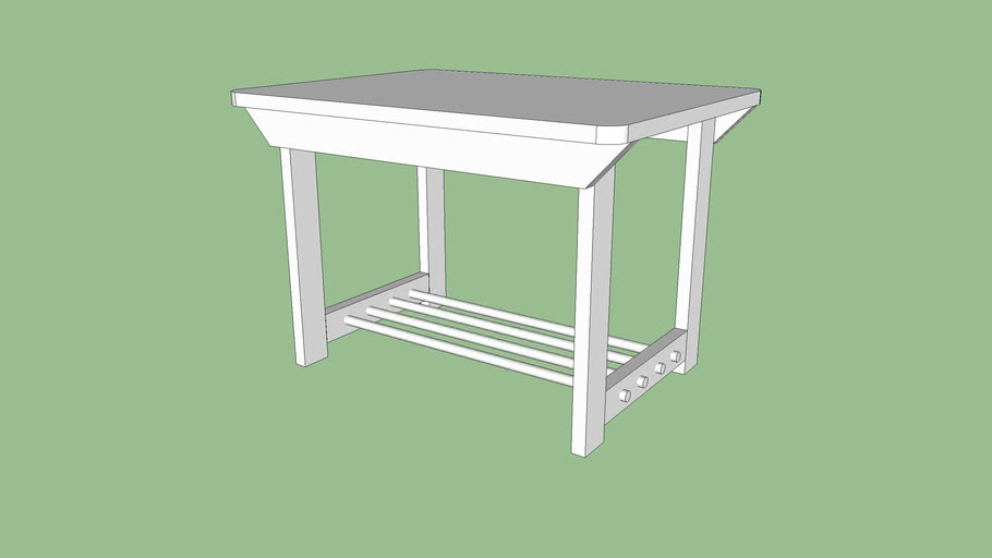 Toddler Drawing Table 3d Warehouse