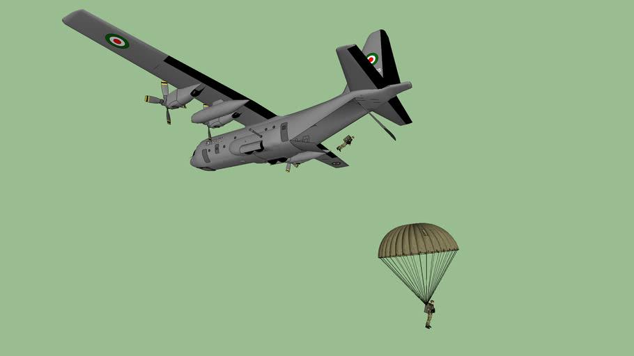 Esercito Italiano, Fologore Parà Brigade Lockhead-Martins AC-130