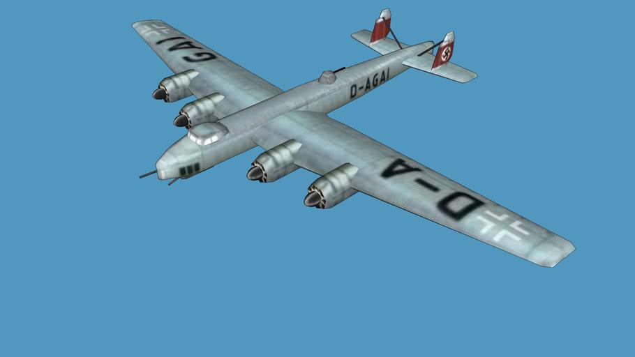 Dornier Do-19 (low poly)