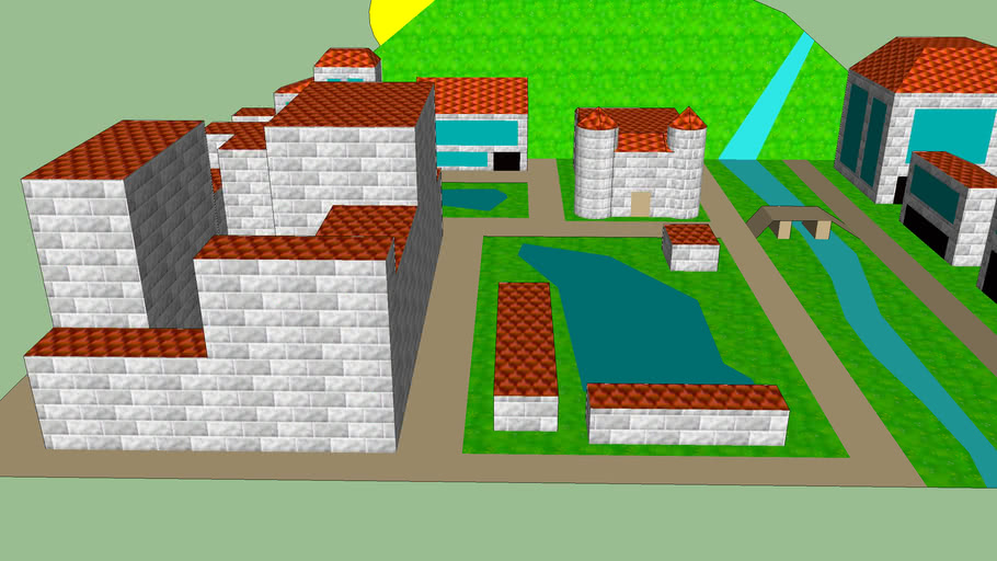 (I Need) Mini Town To Be Imported To Super Mario 64