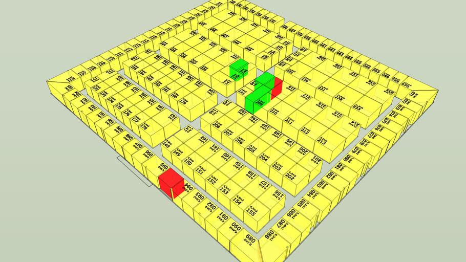 BodgetBox eerste verdieping