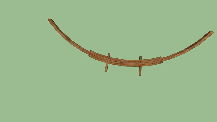 soporte para hamaca