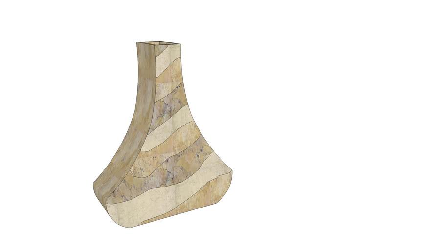Vaso decorativo de mármore