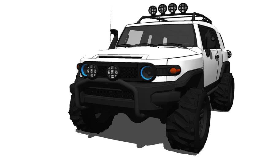 2014 Toyota - FJ Cruiser Tuning(Off Road)