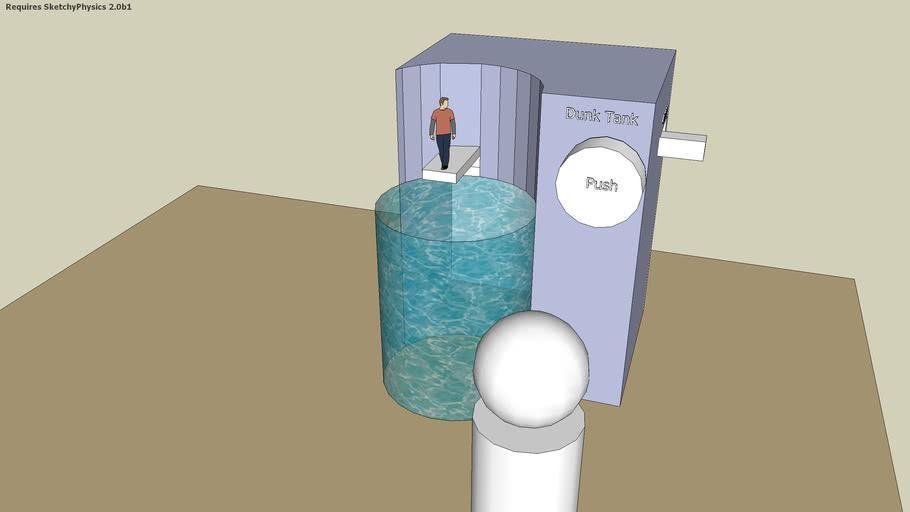 Sketchyphysics Dunk Tank