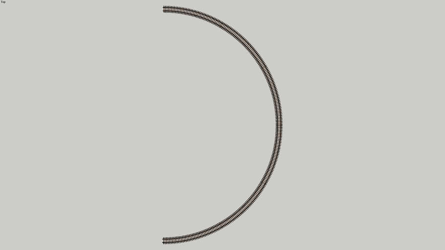 "22"" Radius Curve Semi Circle"