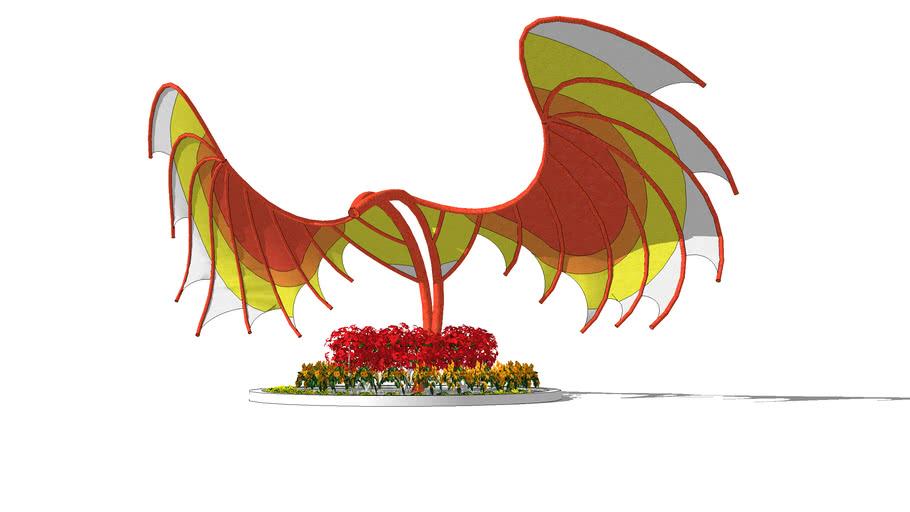 Sail Shade Art: The Phoenix