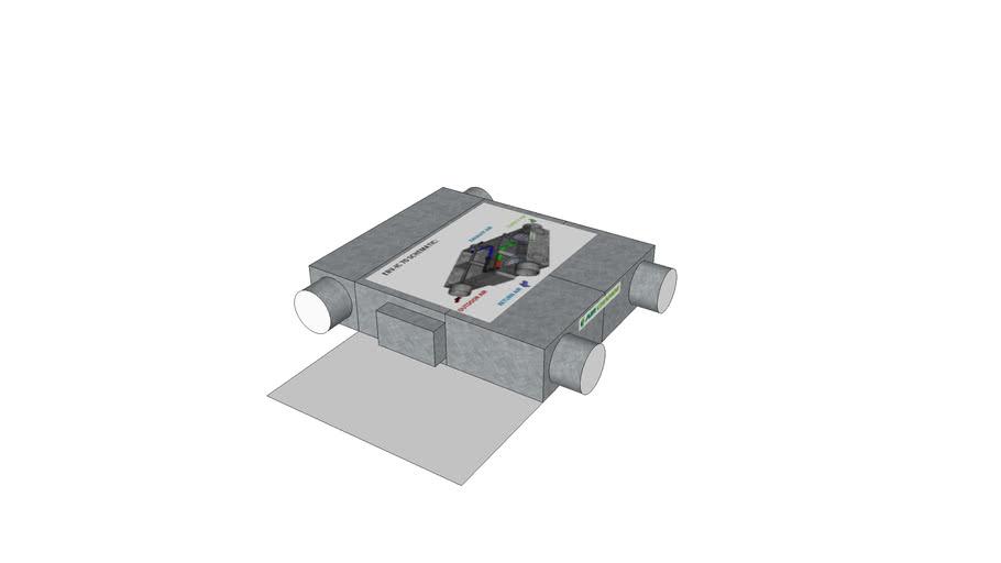 Airchange Heat Exchanger ERV-IC 70