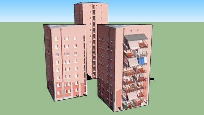 20099 塞斯托-聖喬凡尼 MI, 意大利的建筑模型