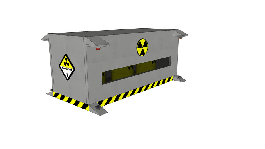 Container for Nuclear Waste