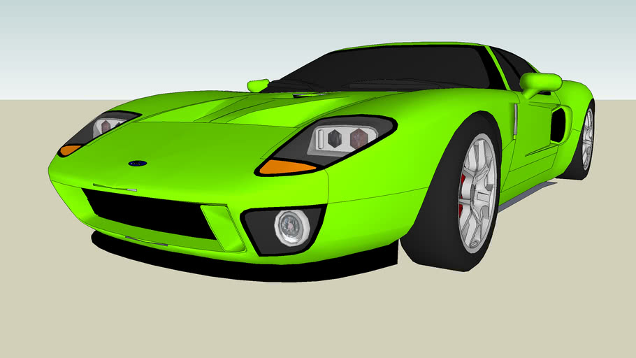 Modified Ford GT