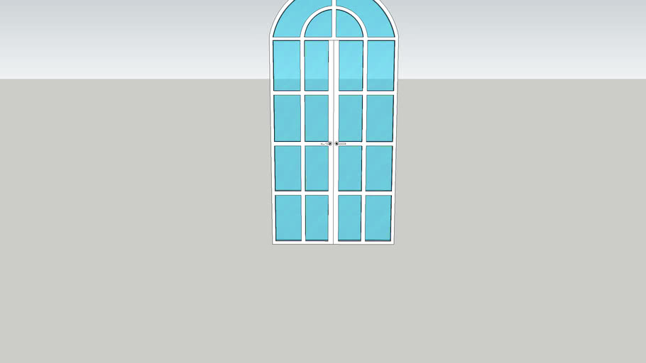 puerta vitral