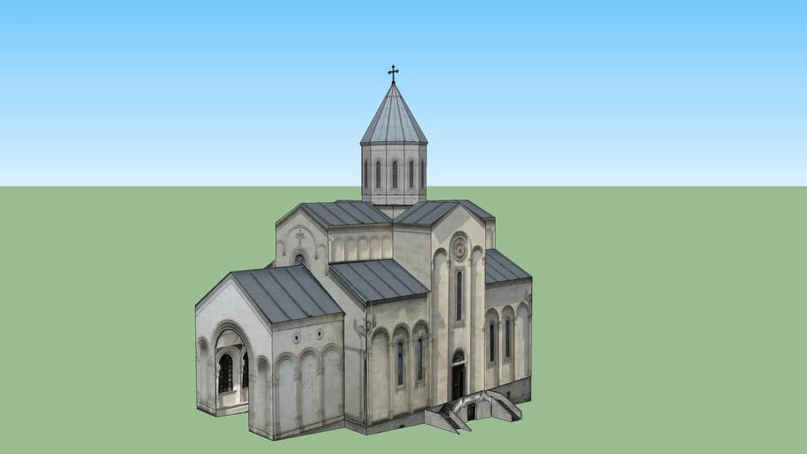 Qashueti, tsminda giorgis saxelobis,  eklesia church