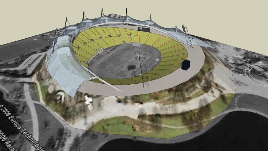 Olympiastadion Munchen 3d Warehouse