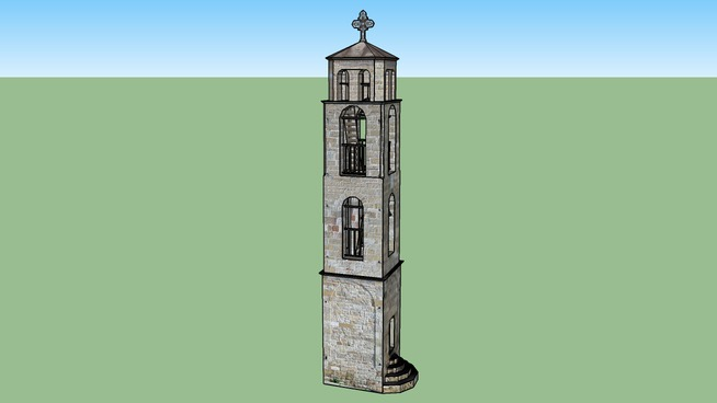 The bell tower of  Ag. Georgios, Epanomi