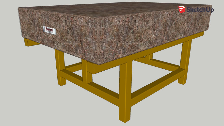 Granite Block Surface Table