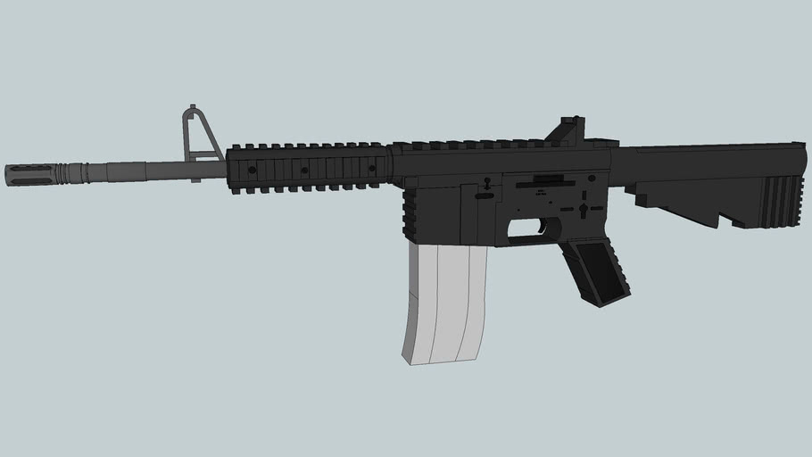 M4A1 (Improved version) [Please Rate]