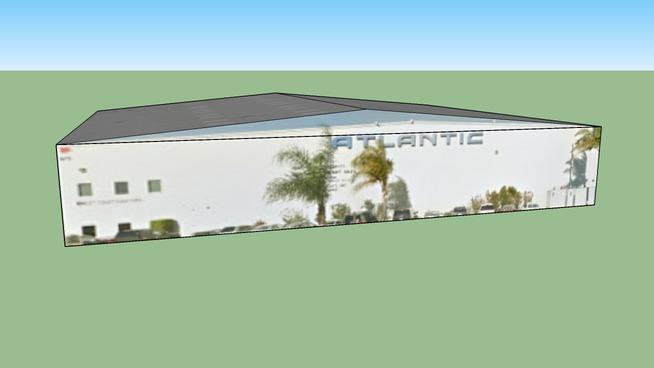 Building in Santa Ana, CA 92707, USA