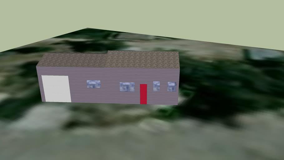 Small house on Shady Ln.