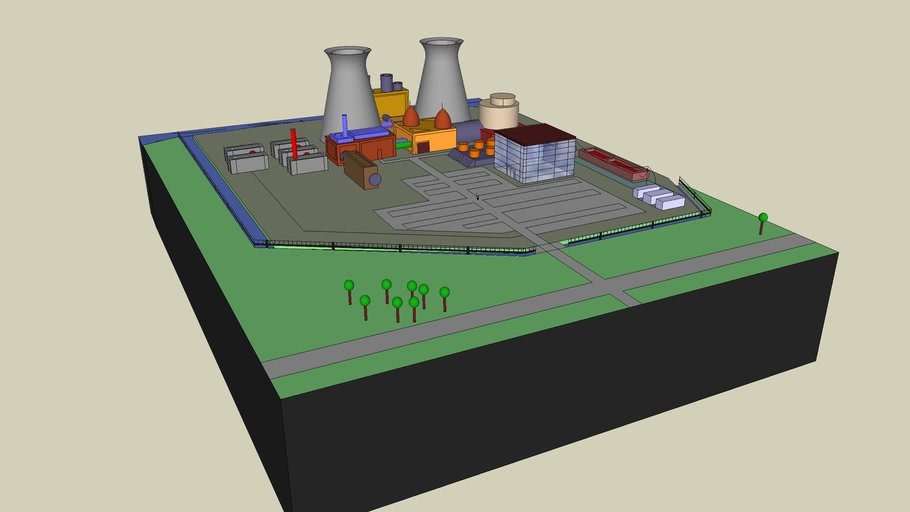 Springfield nuclear power plant ( Simpsons )
