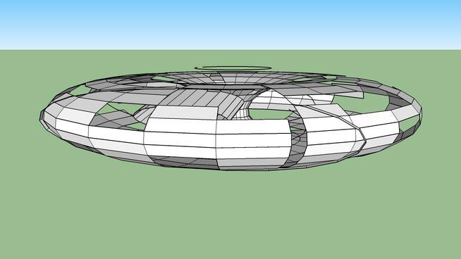 UFO shape by nathan