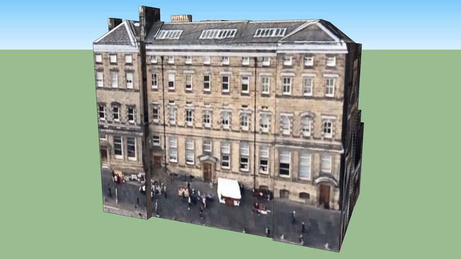 Bâtiment situé Édimbourg EH1, Royaume-Uni