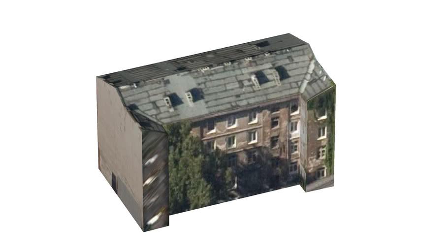 Budynek na podwórzu Inżynierskiej 5, Warszawa, Polska