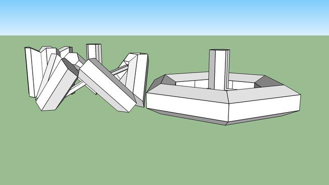 Folding Space Wheel