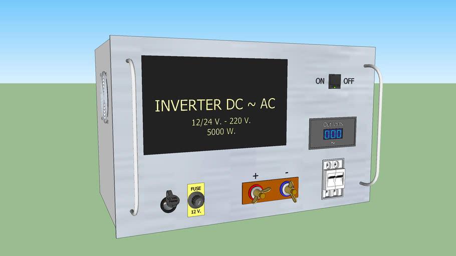 Inversor 12 - 220 V.