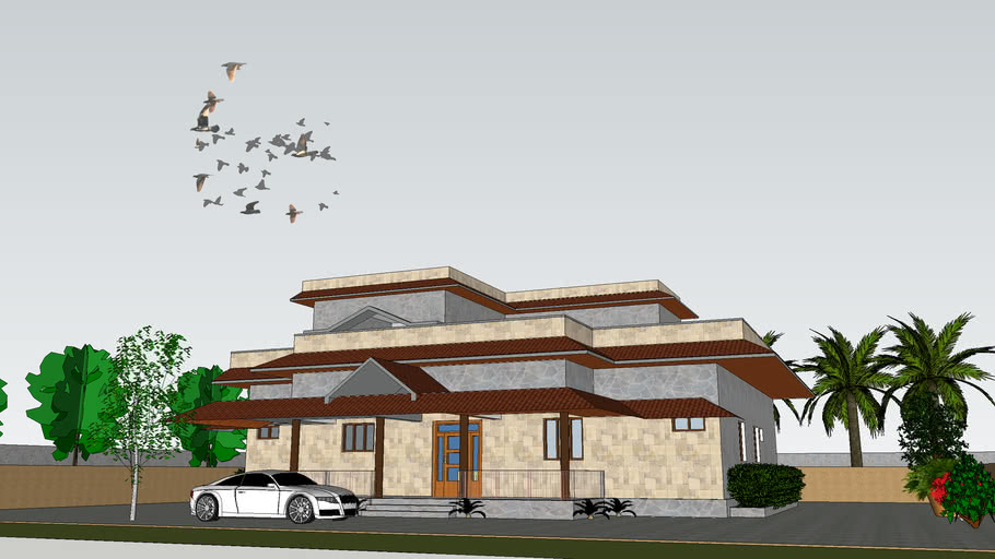INDIAN VILLA / Farm House (with Landscaping)