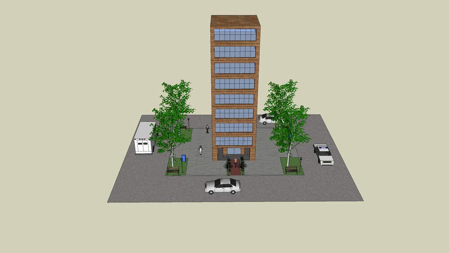 Edificio, Cedros, Antonio ´Pérez Ibarra